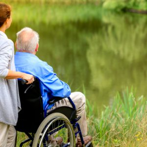 Not many elderly people get long-term care insurance. It's expensive and many hope their kids will look after them instead.