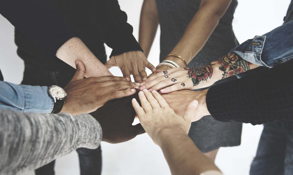 Photo of People Hands Together